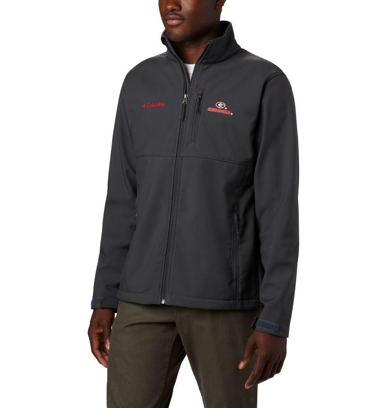 Men's Collegiate Ascender™ Softshell Jacket - Georgia Men's Collegiate Ascender™ Softshell Jacket - Georgia, front
