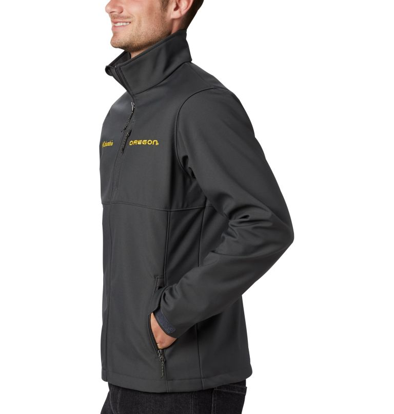 Men's Collegiate Ascender™ Softshell Jacket - Oregon Men's Collegiate Ascender™ Softshell Jacket - Oregon, a1