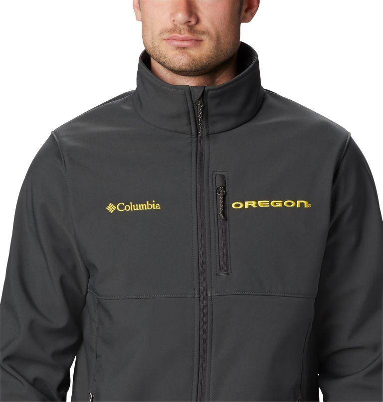 Men's Collegiate Ascender™ Softshell Jacket - Oregon Men's Collegiate Ascender™ Softshell Jacket - Oregon, a3