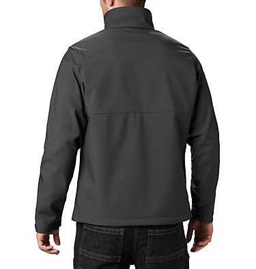 Men's Collegiate Ascender™ Softshell Jacket - Oregon CLG Ascender™ Softshell Jacket | 090 | L, UO - Shark, back