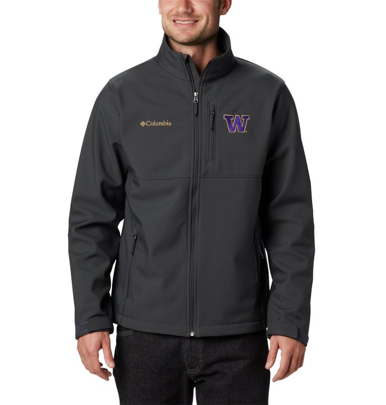 Men's Collegiate Ascender™ Softshell Jacket - Washington Men's Collegiate Ascender™ Softshell Jacket - Washington, front