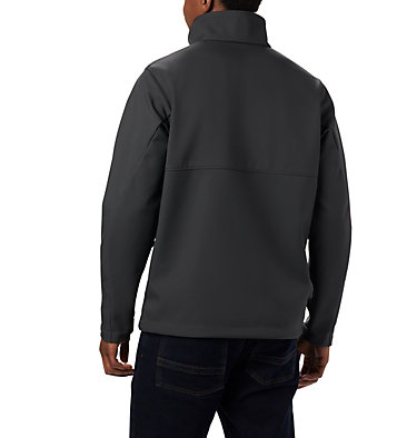 Men's Collegiate Ascender™ Softshell Jacket - Notre Dame CLG Ascender™ Softshell Jacket | 431 | L, ND - Shark, back