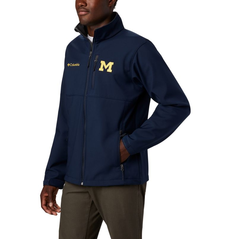 Men's Collegiate Ascender™ Softshell Jacket - Michigan Men's Collegiate Ascender™ Softshell Jacket - Michigan, a1