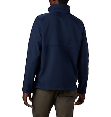 Men's Collegiate Ascender™ Softshell Jacket - Michigan CLG Ascender™ Softshell Jacket | 427 | L, UM - Collegiate Navy, back