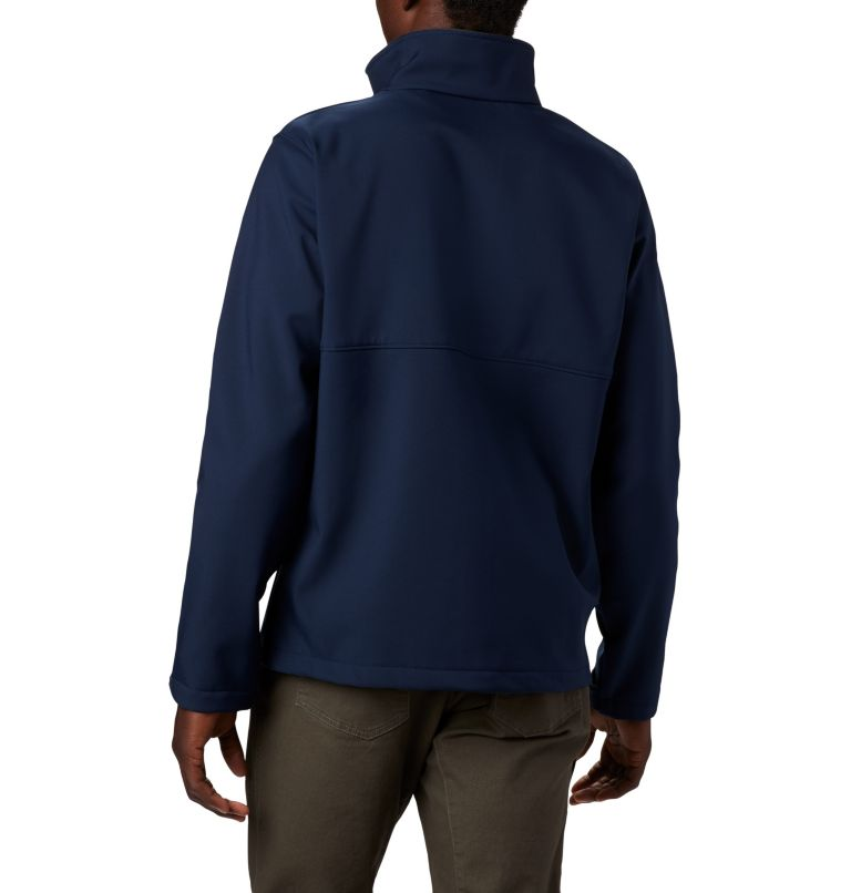 Men's Collegiate Ascender™ Softshell Jacket - Michigan Men's Collegiate Ascender™ Softshell Jacket - Michigan, back