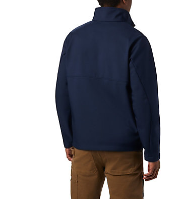 Men's Collegiate Ascender™ Softshell Jacket - Notre Dame CLG Ascender™ Softshell Jacket | 431 | L, ND - Collegiate Navy, back