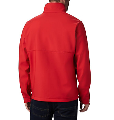 Men's Collegiate Ascender™ Softshell Jacket - Wisconsin CLG Ascender™ Softshell Jacket | 695 | XXL, WIS - Intense Red, back