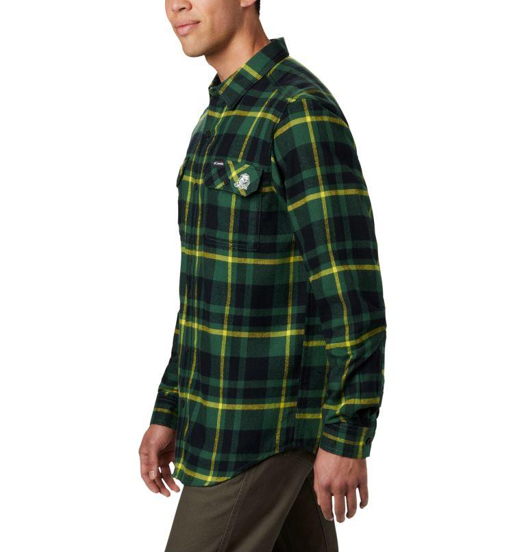 Men's Collegiate Flare Gun™ Flannel Long Sleeve Shirt - Oregon Men's Collegiate Flare Gun™ Flannel Long Sleeve Shirt - Oregon, a1