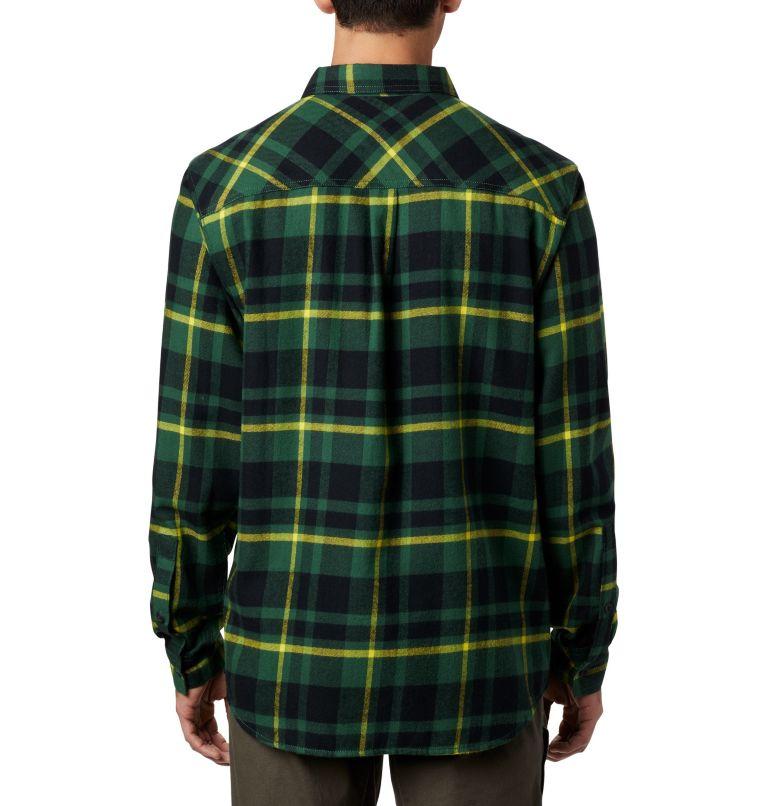 Men's Collegiate Flare Gun™ Flannel Long Sleeve Shirt - Oregon Men's Collegiate Flare Gun™ Flannel Long Sleeve Shirt - Oregon, back