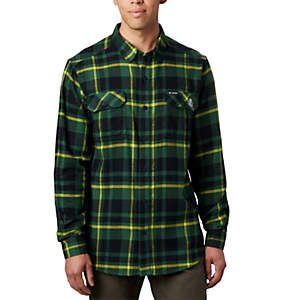 Men's Collegiate Flare Gun™ Flannel Long Sleeve Shirt - Oregon