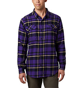 Men's Collegiate Flare Gun™ Flannel Long Sleeve Shirt - Washington