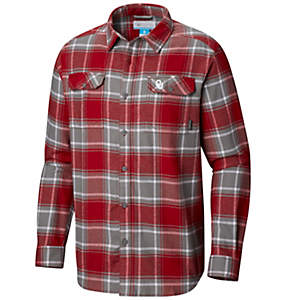 Men's Collegiate Flare Gun™ Flannel Long Sleeve Shirt - Oklahoma