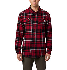 Men's Collegiate Flare Gun™ Flannel Long Sleeve Shirt - Washington State