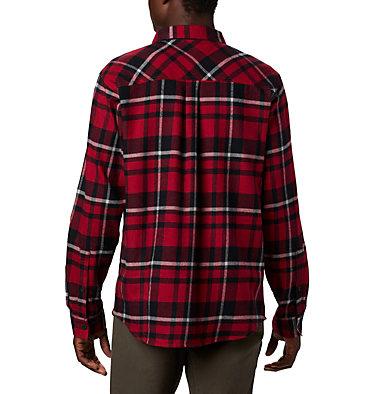 Men's Collegiate Flare Gun™ Flannel Long Sleeve Shirt - Alabama CLG Flare Gun™ Flannel LS Shirt | 771 | L, ALA - Red Velvet Plaid, back