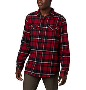 Men's Collegiate Flare Gun™ Flannel Long Sleeve Shirt - Alabama