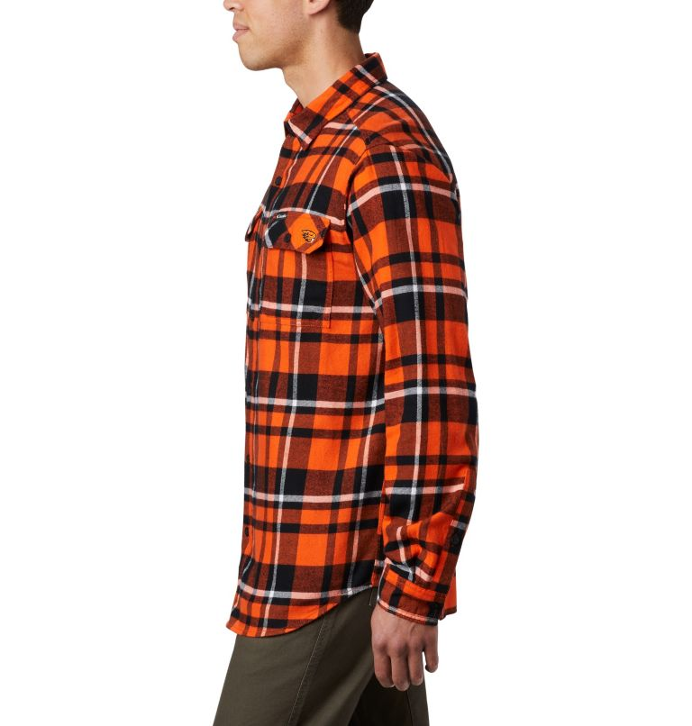 Men's Collegiate Flare Gun™ Flannel Long Sleeve Shirt - Oregon State Men's Collegiate Flare Gun™ Flannel Long Sleeve Shirt - Oregon State, a1