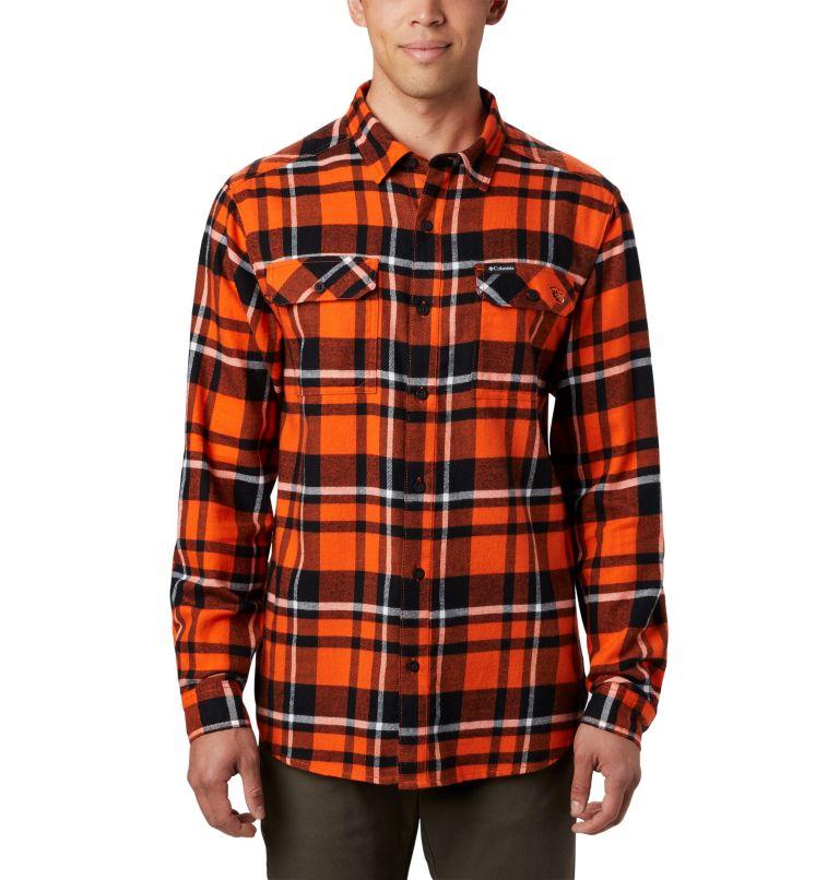 Men's Collegiate Flare Gun™ Flannel Long Sleeve Shirt - Oregon State Men's Collegiate Flare Gun™ Flannel Long Sleeve Shirt - Oregon State, front