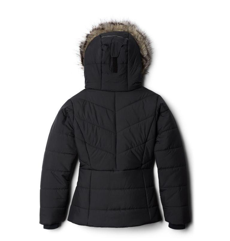 Katelyn Crest™ Jacket | 010 | XXS Girls' Katelyn Crest™ Jacket, Black, back