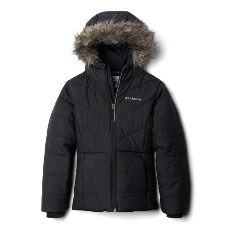 6//6X Columbia Girls Big Katelyn Crest Jacket Arctic Blue X-Small