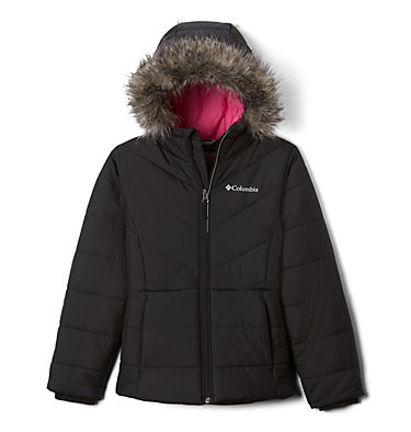 Girls' Katelyn Crest™ Jacket Katelyn Crest™ Jacket | 689 | L, Black, front