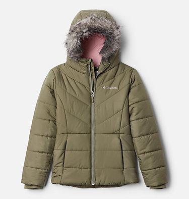 Girls' Katelyn Crest™ Jacket Katelyn Crest™ Jacket | 689 | XL, Stone Green, front