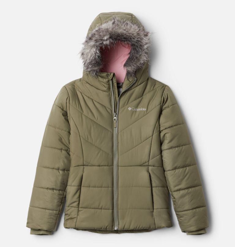Katelyn Crest™ Jacket | 397 | M Girls' Katelyn Crest™ Jacket, Stone Green, front