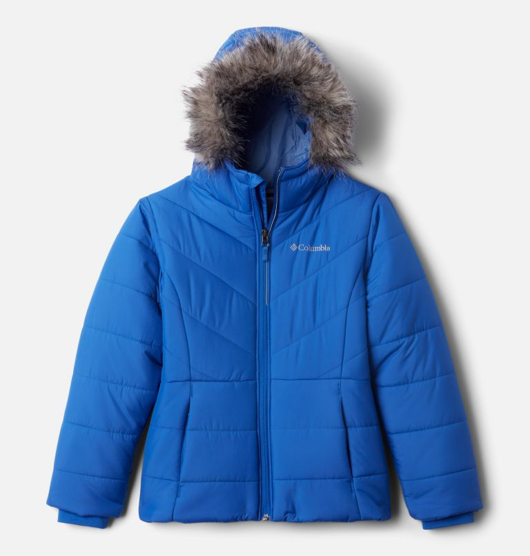 Katelyn Crest™ Jacket | 410 | S Girls' Katelyn Crest™ Jacket, Lapis Blue, front