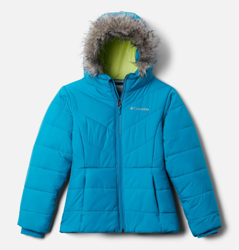 Katelyn Crest™ Jacket | 462 | L Girls' Katelyn Crest™ Jacket, Fjord Blue, front