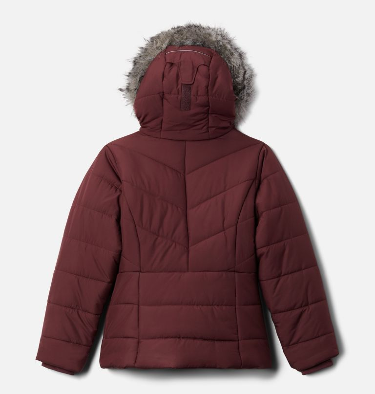 Katelyn Crest™ Jacket | 671 | S Girls' Katelyn Crest™ Jacket, Malbec, back