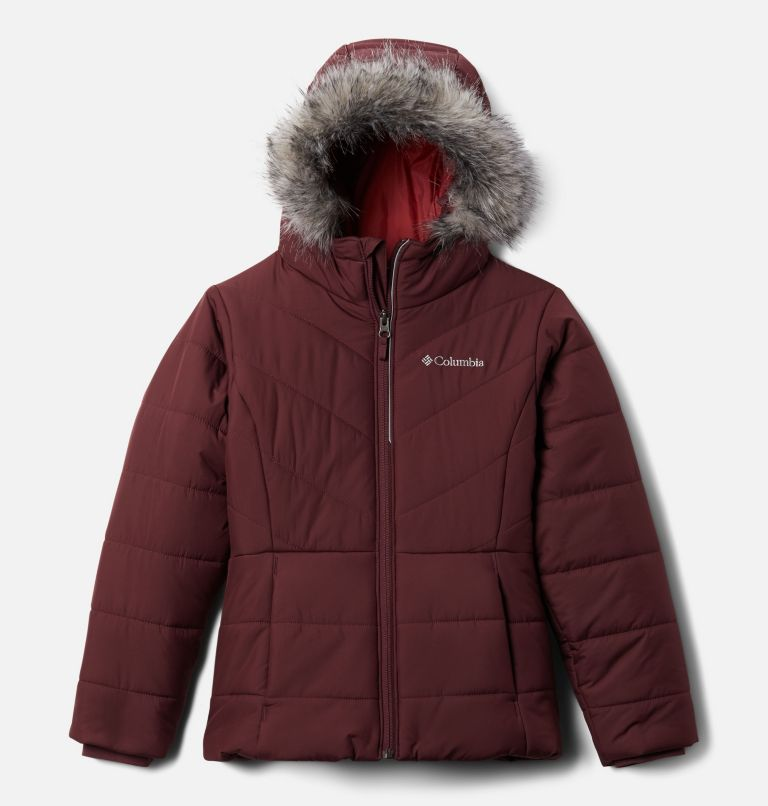 Katelyn Crest™ Jacket | 671 | S Girls' Katelyn Crest™ Jacket, Malbec, front