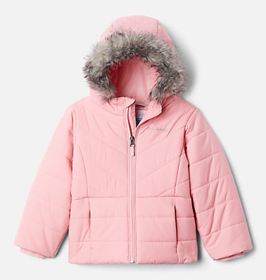 Girls' Katelyn Crest™ Jacket Katelyn Crest™ Jacket | 689 | L, Pink Orchid, front
