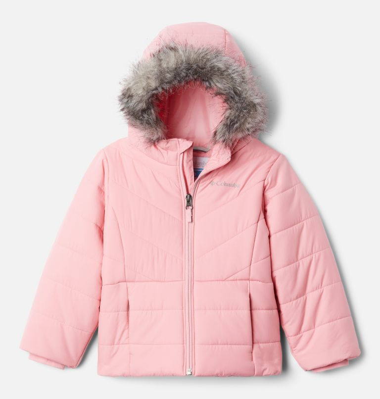 Katelyn Crest™ Jacket | 689 | XL Girls' Katelyn Crest™ Jacket, Pink Orchid, front