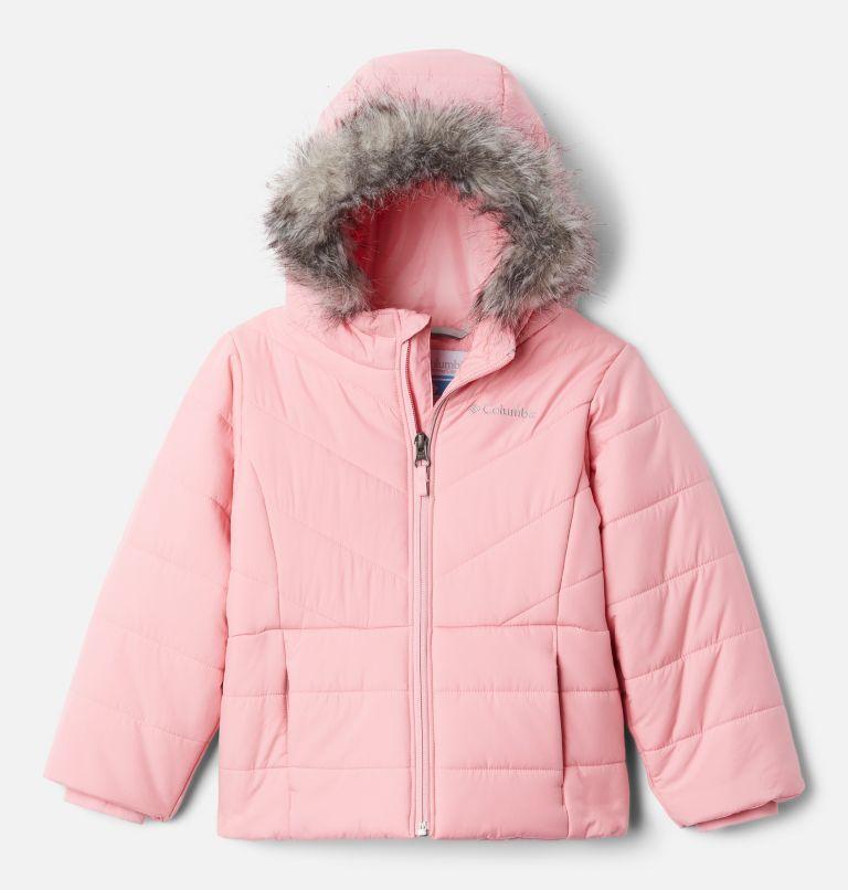 Katelyn Crest™ Jacket | 689 | XXS Girls' Katelyn Crest™ Jacket, Pink Orchid, front