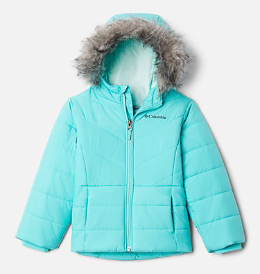 Girls' Toddler Katelyn Crest™ Jacket Katelyn Crest™ Jacket | 689 | 3T, Dolphin, front
