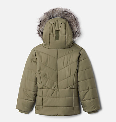 Girls' Toddler Katelyn Crest™ Jacket Katelyn Crest™ Jacket | 689 | 3T, Stone Green, back
