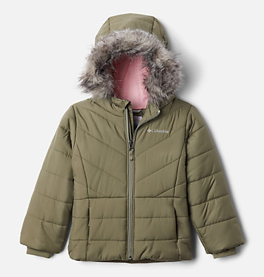 Girls' Toddler Katelyn Crest™ Jacket Katelyn Crest™ Jacket | 689 | 3T, Stone Green, front