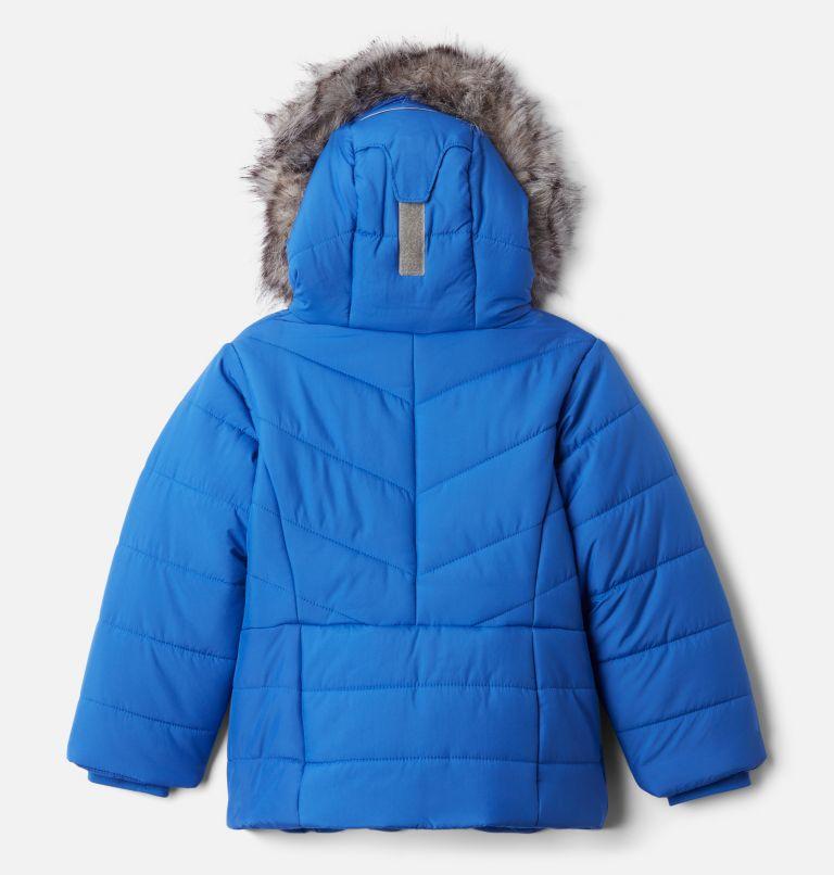 Katelyn Crest™ Jacket | 410 | 3T Girls' Toddler Katelyn Crest™ Jacket, Lapis Blue, back