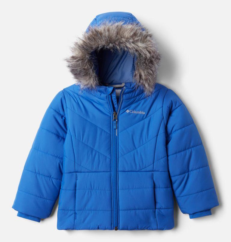 Katelyn Crest™ Jacket | 410 | 3T Girls' Toddler Katelyn Crest™ Jacket, Lapis Blue, front