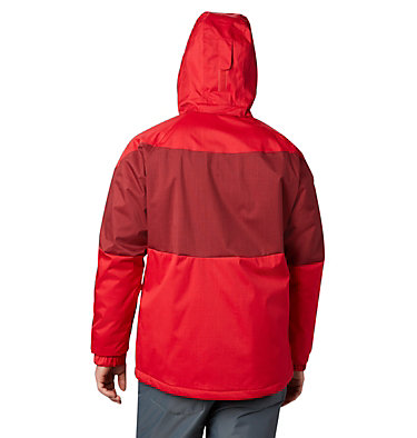 Men's Alpine Action™ Insulated Jacket Alpine Action™ Jacket | 616 | L, Mountain Red, Red Jasper, back