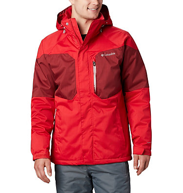 Men's Alpine Action™ Insulated Jacket Alpine Action™ Jacket | 616 | L, Mountain Red, Red Jasper, front