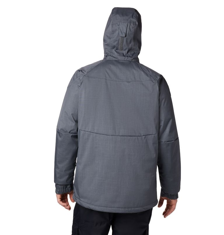 Alpine Action™ Jacket   055   XLT Men's Alpine Action™ Jacket - Tall, Graphite, Super Blue, back
