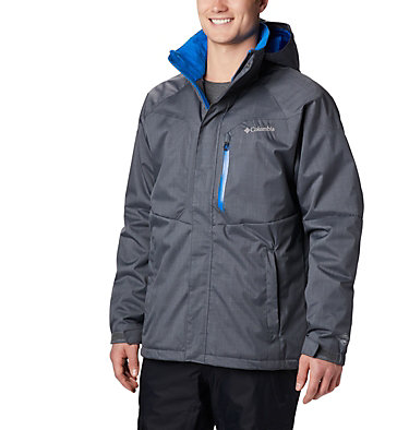 Men's Alpine Action™ Jacket - Tall Alpine Action™ Jacket | 010 | 2XT, Graphite, Super Blue, front