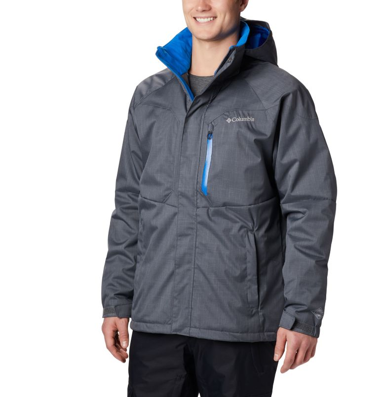 Alpine Action™ Jacket   055   XLT Men's Alpine Action™ Jacket - Tall, Graphite, Super Blue, front