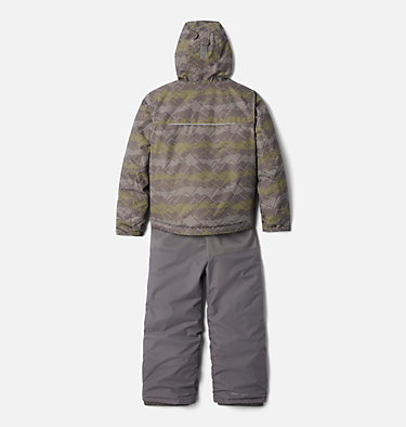 Ensemble Buga™ Set Junior Buga™ Set | 023 | XS, City Grey Dot Scape Print, Columbia Grey, back