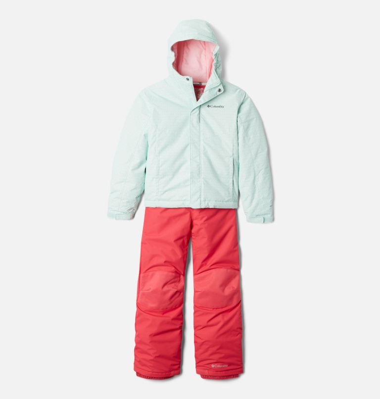 Buga™ Set   310   S Youth Buga Set, Sea Ice Sparklers Print, Pink Orchid, front