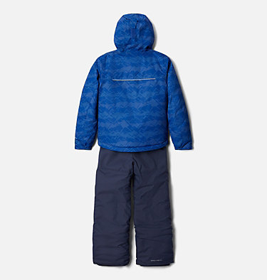 Ensemble Buga™ Set Junior Buga™ Set | 023 | XS, Lapis Blue Dot Scape Print, Pale Lilac, back