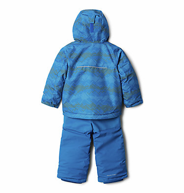 Ensemble Buga™ Set Junior Buga™ Set | 023 | XS, Brt Indigo Dot Scape Print, Brt Indigo, back