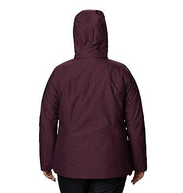 Manteau Alpine Action™ OH pour femme - Taille forte Alpine Action™ OH Jacket | 522 | 3X, Black Cherry, back