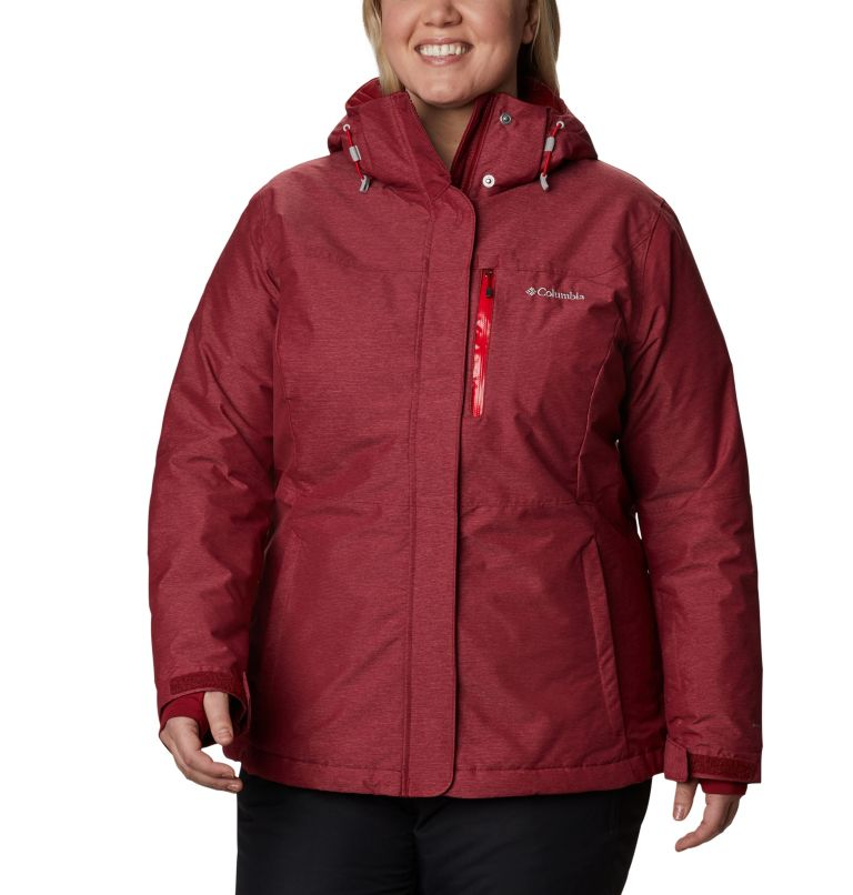 Women's Alpine Action™ Omni-Heat™ Jacket - Plus Size Women's Alpine Action™ Omni-Heat™ Jacket - Plus Size, front
