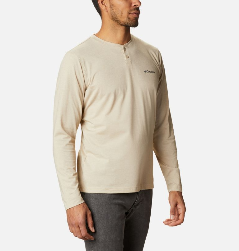 Thistletown Park™ Henley | 271 | S Men's Thistletown Park™ Henley, Ancient Fossil Heather, a3